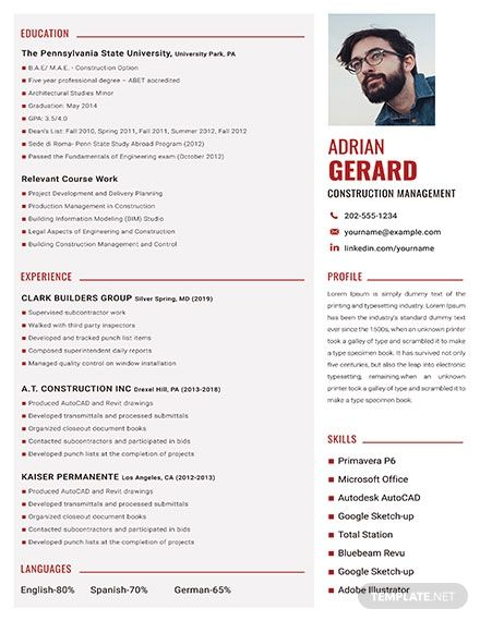 Easily Editable Printable In Photoshop Ms Word Publisher Pages Downl Downloadable Resume Template Resume Template Free Microsoft Word Resume Template