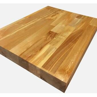 Birch Butcher Block Workbench Top Workbench Top Butcher Block