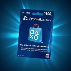 Playstation Store Gift Card 100 Ps4 Gaming Video Store Gift