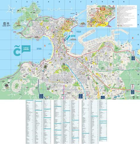 Kavala tourist map Maps Pinterest Tourist map and City