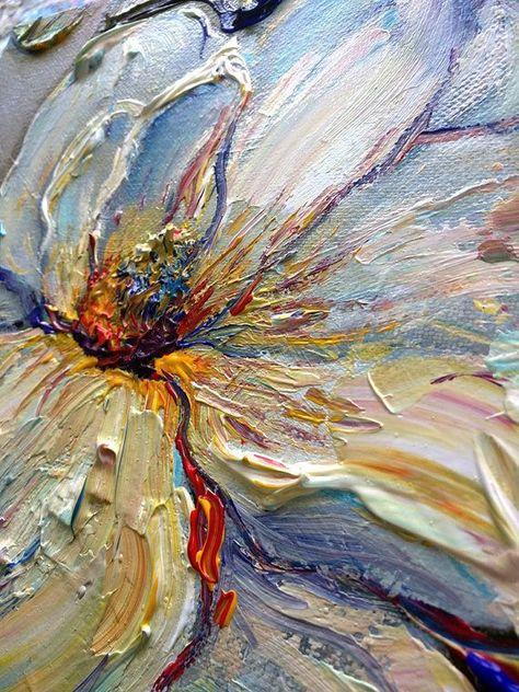 Oil Painting Original Magnolia Nizamas Ready to SHIP by Artcoast #OilPaintingOleo #OilPaintingColorful