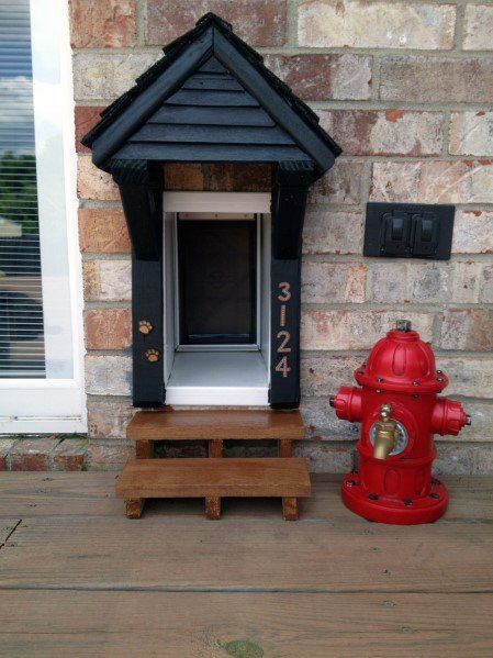 Top 50 Best Doggy Door Ideas Canine Convenience Designs Dog