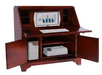 Portable Wooden Small Computer Desk Opbergruimte Bad