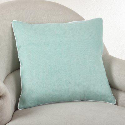 Ebern Designs Sveinn Throw Pillow Colour Seafoam Green Throw