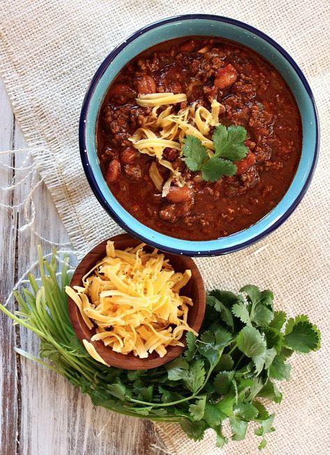 Halftime Chili #recipe
