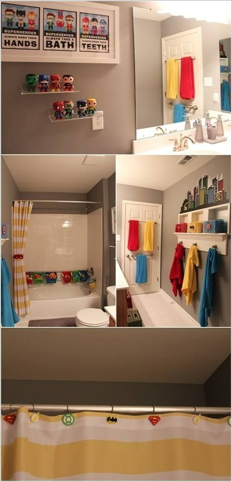 50 Cute And Striking Kids Bathroom Decor For Fun Bathing ...