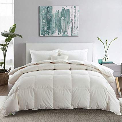 Apsmile Bedding Luxurious All Season Siberian Goose Down Comforter