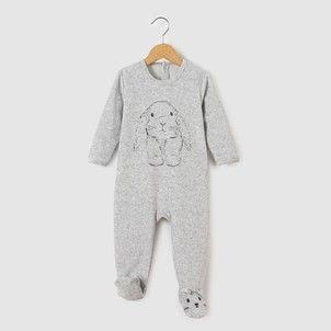 Pijama De Terciopelo 0 Meses 3 Anos La Redoute Collections
