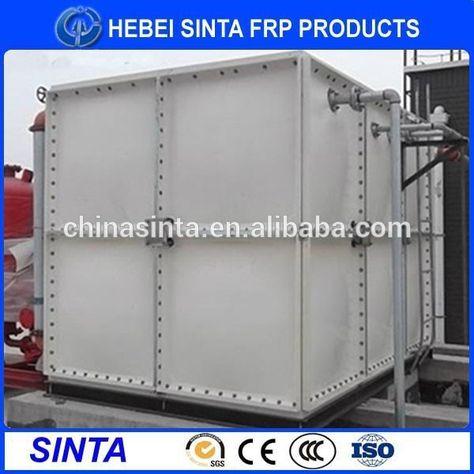 Environmental Frp Sectional Smc Water Tank Chilling Water Tank Water Tank Galvanized Water Tank Steel Water Tanks