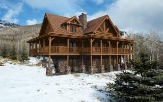 Kodiak Floor Plan By Yellowstone Log Homes Log Cabin Floor Plans