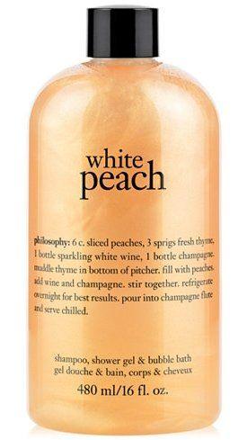 Philosophy White Peach Shampoo Shower Gel Bubble Bath Created For Macy S Reviews Skin Care Beauty Macy S Shower Gel Shampoo Bath And Body Care