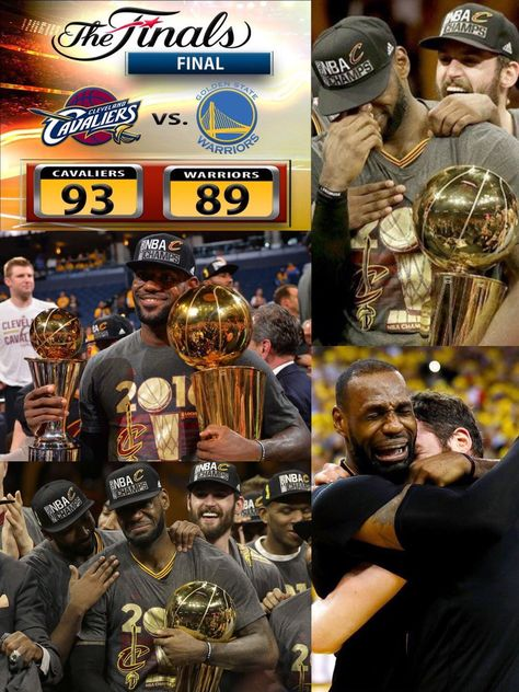 @KingJames brought the first championship for the Cleveland.