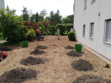 Rasenplanie Erstellen Fur Eine Neu Saat Rasen Landschaftsgartner Gartenbau Gartenbau Gartengestalltung Landschaftsgartner Gartenbau Garten
