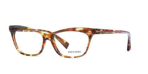 b13a50e1d7 Alain Mikli A03059 E012 Wires Havana Glasses