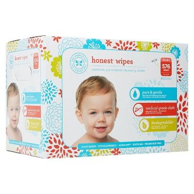 The Honest Company Honest Company Baby Wipes Fragrance Free Classic 576 Count
