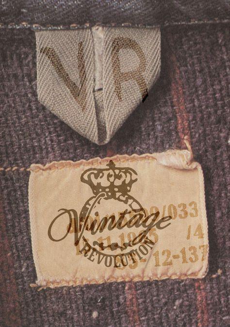 Vintage Revolution Jeans by Glenn Wolk, via Behance