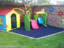 TERRASOFTA Alternative To Playground Safety Grass, Rubber Play Mats, Tiles,  Mat