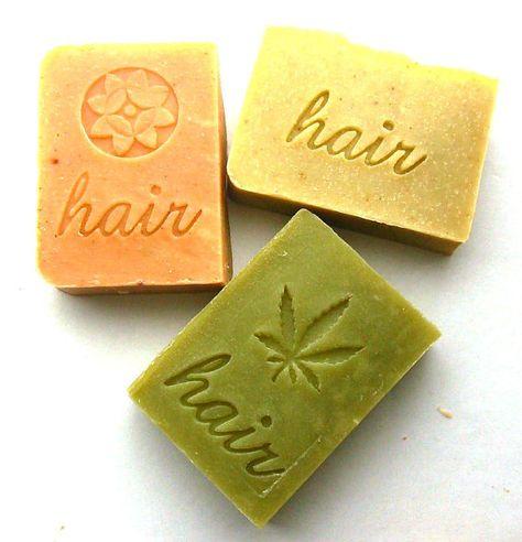 Shampoo Bar Set of 3 Your Choice  Shampoo Bars  by AquarianBath, $19.00