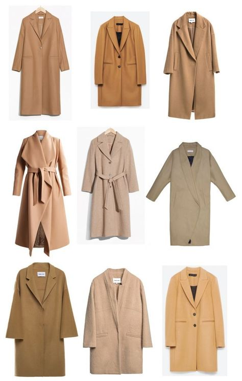 Time for Fashion. Camel Coat. Winter Trends 2017