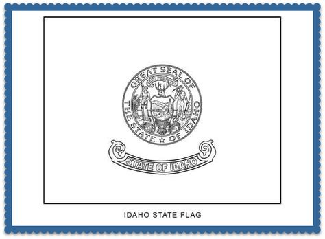State Flag Coloring Pages By Flag Coloring Pages Free Coloring