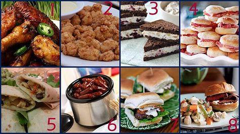 Tailgate menu ideas with recipes