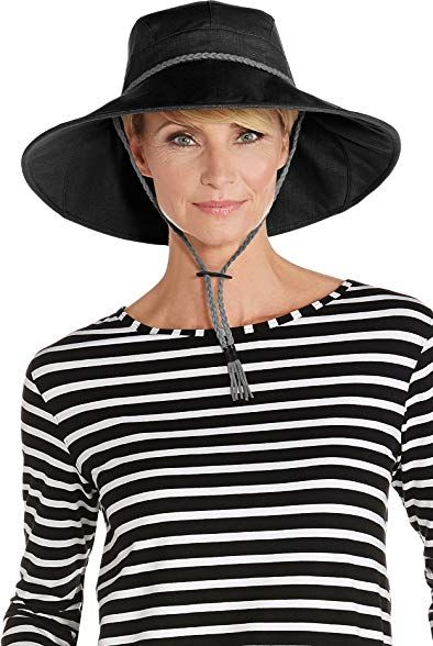 9768471d3 Coolibar UPF 50 Women's Gardening Hat - Sun Protective Review ...