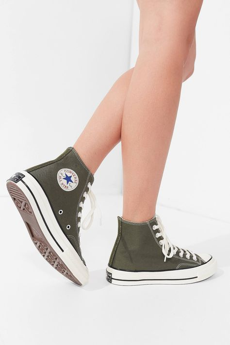 fe9275fa42e6 Shop Converse Chuck Taylor All Star Canvas High Top Sneaker at Urban  Outfitters today. We carry all the latest styles