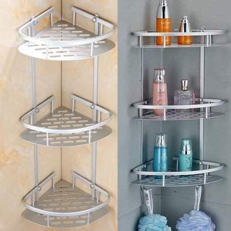 Home Improvement In 2020 Shower Shelves Bath Rack Shower Storage