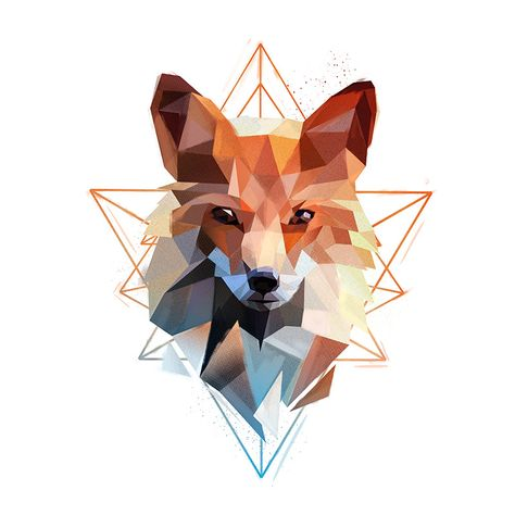 Low Poly Animals 3 on Behance