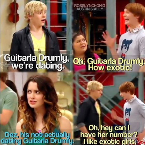 Austin and ally are dating