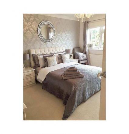 63 Trendy Damask Wallpaper Living Room Inspiration Damask Wallpaper Living Room Master Bedroom Wallpaper Luxurious Bedrooms