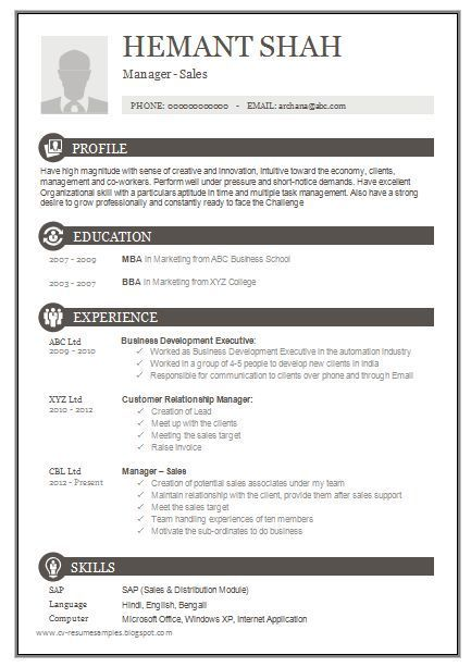 Pin By Jacob Jennings Cv Examples On Example Resumes Resume Format Free Download Resume Format Download Resume Template Free