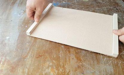 Diy Desk Drawer Organizer With Sliding Trays From Cardboard Box Cardboard Drawers Desk With Drawers Desk Organization Diy