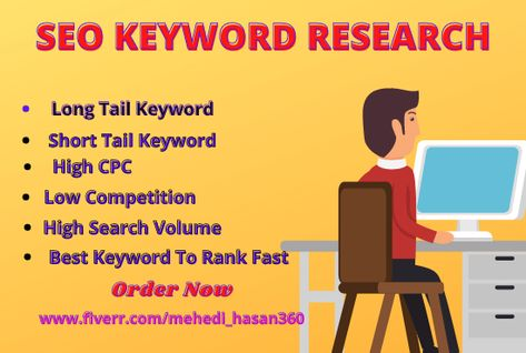 I will do the best SEO keyword research on your niche