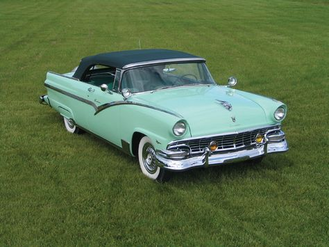 Ford Fairlane Sunliner 1956 Coches Clasicos Coches Antiguos