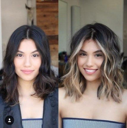 Best Hair Color Ideas For Brunettes Ombre Face Framing Ideas Brown Hair Balayage Cool Hair Color Balayage Hair