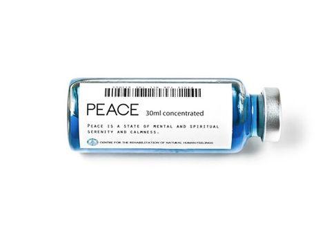 Human Feelings as Drugs / Peace