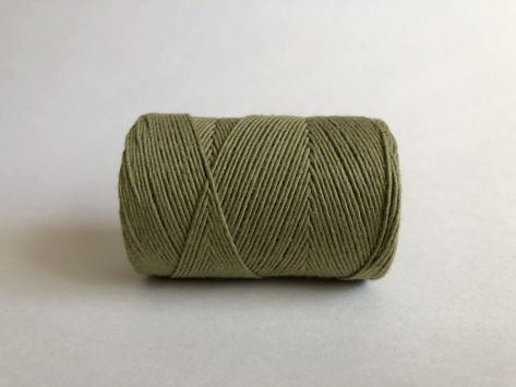 1mm Single Strand Avocado Macrame Projects Macrame Cord Fiber Art