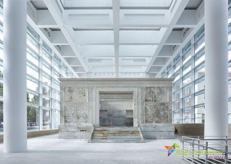 Architekturfotografie - Ivo Vögel Bildmanufaktur - Werbefotografie, Industriefotografie, Portraitfotografie, Editorialfotografie #architektur #architecture Ara Pacis, Rom