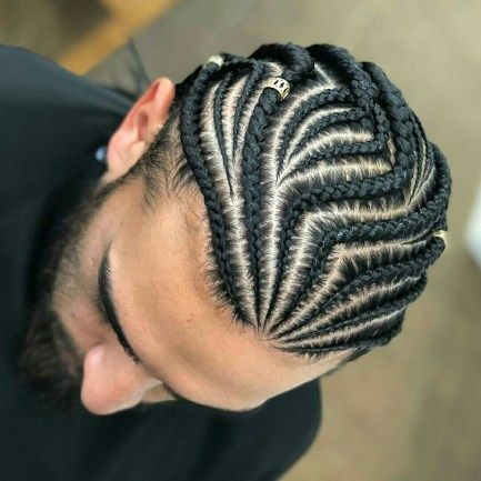 Good Braids Idea For Men In Spring In 2020 Cornrow Hairstyles For Men Mens Braids Hairstyles Hair Styles