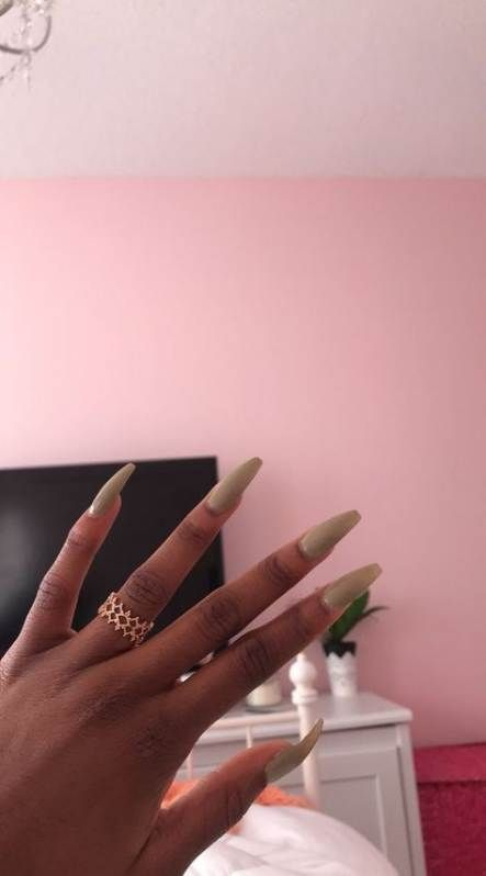 Nails Dark Skin Acrylic 43 Ideas Long Acrylic Nails Nail Colors Trendy Nails