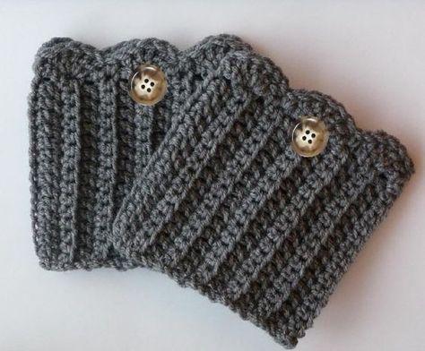 Boot Cuff Crochet Pattern | Crochet boot cuffs, Crochet boots and ...
