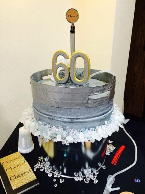 Keg Cake....LOVE it!!!