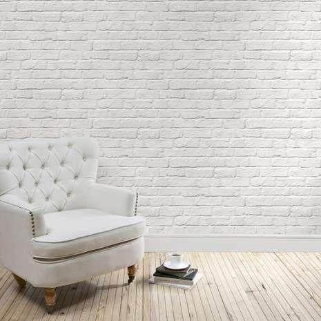 11e06e4e947412dc5ae3e198e5e4456d  White Brick Wallpaper Brick Effect  Wallpaper