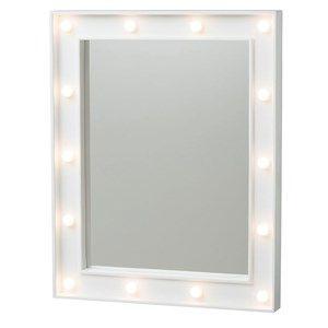 sminkspegel med belysning rusta