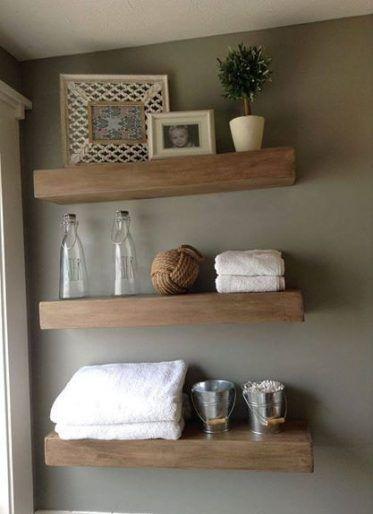 21 Ideas For Bath Room Remodel Dark Floating Shelves Floating Shelves Shelves Floating Shelves Bathroom
