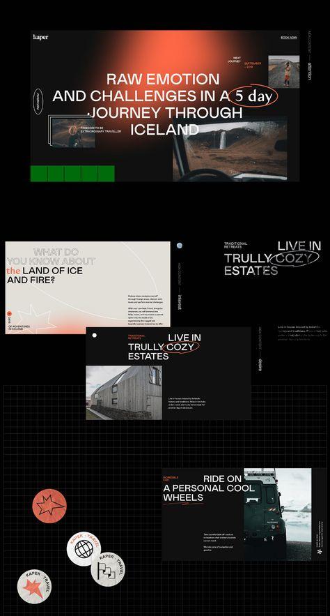 kaper travel | brand design | website launch