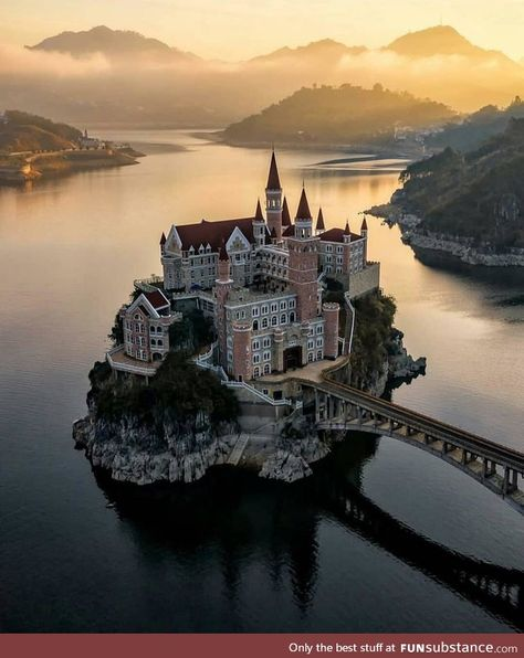 This castle in China is straight out of a fairytale