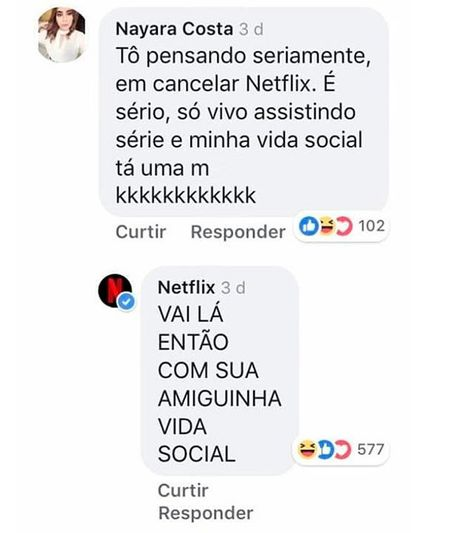 Quem Anda Cancelando A Vida Social Por Uma Boa Dose De Netflix