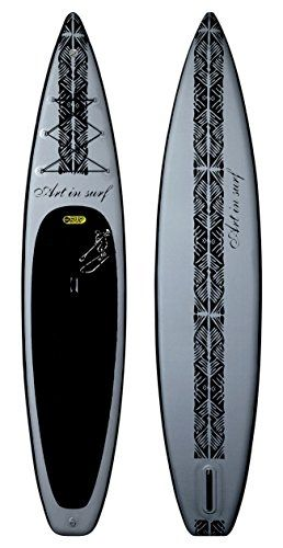 Art In Surf Insup Touring Paddle Board Grey 12 6 X 32 X 6 322 L Paddleboarding Surf Art Paddle Boarding Surfing